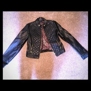 Bebe Vegan Leather Jacket